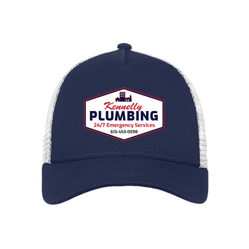 Sevans Designs Promotional Products Services Kennelly Plumbing Trucker Hat
